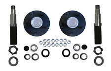 Build Your Own Trailer Axle Kit 3500# Square Spindle 5 x 5.5 Idler Hub Camper RV