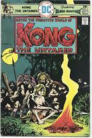 Kong The Untamed #2 1975 FN+ DC Comics Free Bag/Board