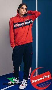 tuta sportiva DIADORA con zip UOMO con cappuccio cotone SPORTSWEAR 2 colori