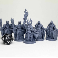 Death Knights Miniature Dungeons and Dragons DnD D&D Mini
