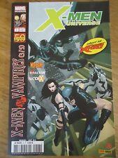 * X-MEN UNIVERSE 7 * aout 2011 MARVEL XMEN PANINI COMICS MALEDICTION MUTANTS 3/5