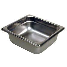 """Paragon Sixth Size Steam Table Pan, Anti-Jam 24 Gauge - 2.5"""" Deep"""
