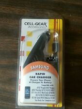 Cell Gear Accessories Samsung Rapid Car Charger