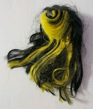 MONSTER HIGH DOLL CREATE-A-MONSTER CAM ADD-ON PACK INSECT BLACK WIG REPLACEMENT