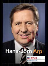 Hans Jörn Arp Autogrammkarte Original Signiert  ## BC 75953