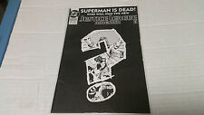 JUSTICE LEAGUE OF AMERICA # 71 (DC, 1993) Superman is Dead