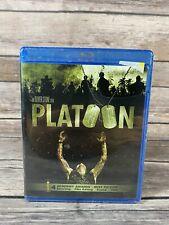 Platoon (Blu-Ray, 2011) Charlie Sheen Oliver Stone Vietnam War Film New Sealed