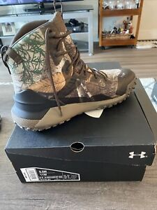 Under Armour Hovr Dawn WP 400g hunting boot Men's size 9.5 / Women's 11W