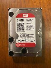 "Western Digital Red 3 TB,Internal,5400 RPM,3.5"" (WD30EFRX) Hard Drive"