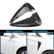 Carbon Fiber Side Body Marker Air Flow Fender Wing Vent Trim Cover for BMW Audi