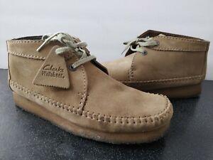 Men's Clarks Originals Wallabee Weaver Desert Suede Chukka Shoes Size 9