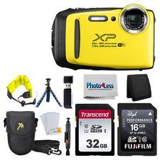 Fujifilm FinePix XP140 Digital Camera Yellow + 48GB + Case + Complete Kit