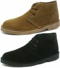 New Roamers Desert Suede Mens Boots ALL SIZES AND COLOURS