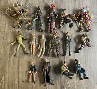 McFarlane Toys Vintage Figure Lot of 15 Loose Figures! 1990's! Lot #1!