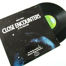 Music From Close Encounters of The Third Kind Electric Moog Orchestra LP MUS8803