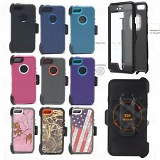 For Apple iPhone SE 5s 5 Defender Case Cover With Belt Clip & Screen Protector