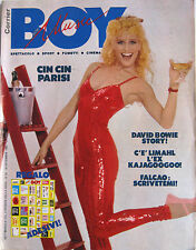 BOY MUSIC 52 1983 Heather Parisi David Bowie Kiss Limahl Frank Zappa Gary Numan