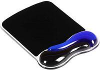 Kensington Duo Gel Mouse Pad With Wrist Rest - Blue (K62401AM)