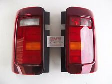 VW CADDY FACELIFT TAIL LIGHTS CADDY2K SMOKED TINTED - GENUINE VW PARTS NEW OEM