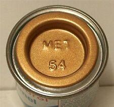 Humbrol Enamel 54 Brass Metallic 14ml AA0597