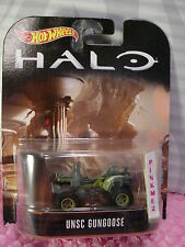 2017 HALO xbox☆UNSC GUNGOOSE☆Army Green;Real Riders☆Hot Wheels Retro☆1/64