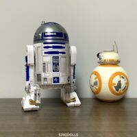 2x Star Wars R2-D2 & BB-8 Droid Figure Force Awakens Action Figures Boy Toy Gift