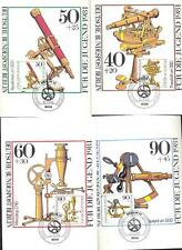Optical instruments on Maxumum-cards rom Germany Berkin 1881