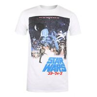 Star Wars - International Poster - Mens T-Shirt - White