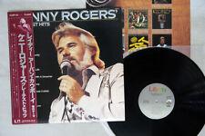 KENNY ROGERS GREATEST HITS LIBERTY K28P-50 Japan OBI VINYL LP