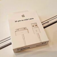 Genuine Official Apple Charger USB Lead Cable For iPhone iPad 1, 2 & 3