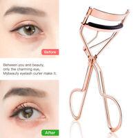 Trendy Metal Eyelash Curler Tweezers Lash Clip Applicator Beauty Makeup Tool Con