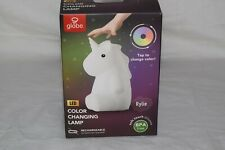 Rylie Unicorn White Multi-Color Changing Integrated LED Night Light TikTok WoW!
