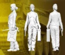 1:35 1/35 Resin WWII German Fantasy Tank Girl Figure Model kit (1 Figure)