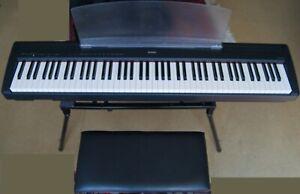 Yamaha Digital Piano P-85 + Netzteil + Pedal + Ständer + Klappsessel + Koffer