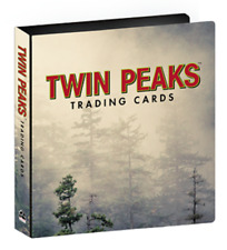 2018 Twin Peaks Trading Cards Official Collector's Album / Binder w/ Promo Cards