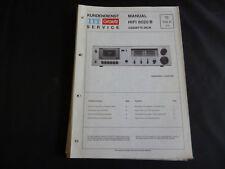 Original Service Manual  ITT Graetz HIFI 8020B