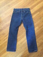 Vtg Rare Levis Double Stitch 505 Non Redline 501s Jeans Usa 6 Wash Zipper 32 30
