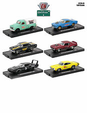 DRIVERS 6 CARS SET RELEASE 43 IN BLISTER PACKS 1/64 CARS BY M2 MACHINES 11228-43