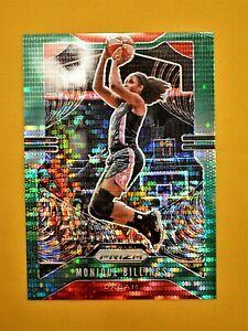Monique Billings 2020 WNBA Prizm Green Pulsar #79 Atlanta Dream 23/25