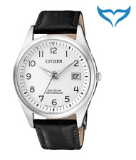 Citizen Herren FunkUhr AS2050-10A Funk Quarz Eco-Drive Saphir Leder 10 bar NEU
