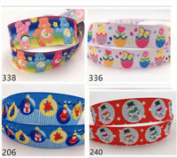 wholesale! 10 Yard 1'' Grosgrain Ribbon Hair Bow Sewing Ribbon Christmas Ribbon