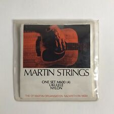 Vintage Set Of Martin Ukulele Strings