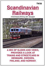 TW36 Scandinavian Railways by John Szwajkart  - A Slide and Video Show - Unrated