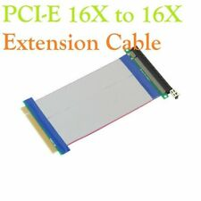 PCI-E Express 16X to 16X Extender Extension PC Ribbon Cable Riser Card UP