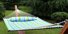 Hammock Quilted Fabric With Pillow Double Size Spreader Bar Heavy Duty HOT SELL