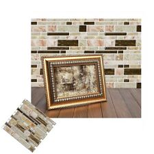 Mosaic Self Adhesive Wall Tile Sticker Vinyl Bathroom Kitchen Home Decor DIY N