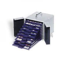 Leuchtturm Alu-Koffer CARGO S 10 für 10 Münzenboxen SMART (nicht enthalten)