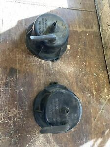 Morris Marina Headlight Bowl Caps X2