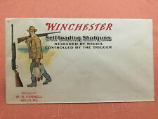 Winchester Self-Loading Shotguns Advertising Cover - Unused - Evf