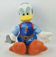 "Disney Store Prince Donald Duck 18"" Plush Knight Sword Stuffed Animal Toy"